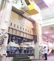 1500T Danly stamping press now available for your production requirments